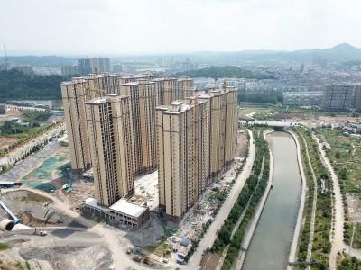 2020年8月辰华未来城高空航拍