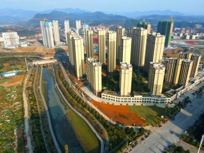 辰溪辰华·未来城2021年2月高空全景